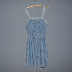 e08b97e254c Universal Thread Dresses - New UNIVERSAL THREAD Embroidered Denim Dress [B6]